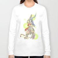 saga Long Sleeve T-shirts featuring Digital Devil Saga by Ashley Reichgelt