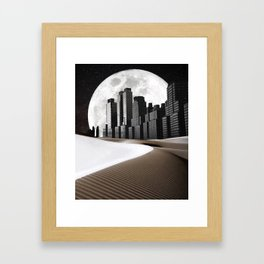 Dead of the Night Framed Art Print