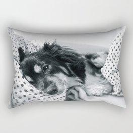 Jamie relaxing Rectangular Pillow