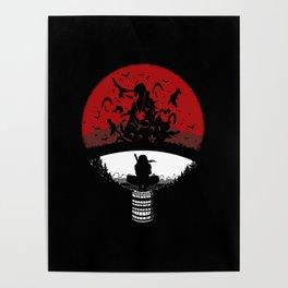 Uchiha Clan Silhouette Poster