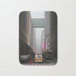 Snow Empire - NYC Bath Mat