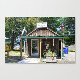 Bridal Veil Post Office Canvas Print