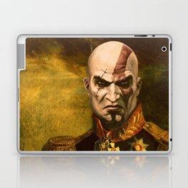 Kratos General Portrait Painting | god of war Fan Art Laptop & iPad Skin