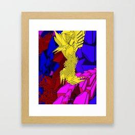 AUTOMATIC WORM 3 Framed Art Print