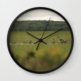 Field of Dreams Wall Clock