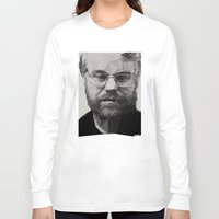 actor Long Sleeve T-shirts featuring R.I.P Philip Seymour Hoffman by David