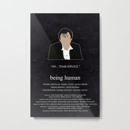 Being Human - John Mitchell (1930s edition) Metal Print