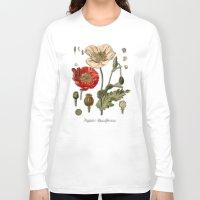 poppy Long Sleeve T-shirts featuring Poppy by jbjart