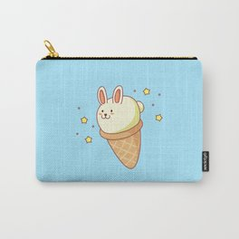 Bunny-lla Ice Cream Carry-All Pouch
