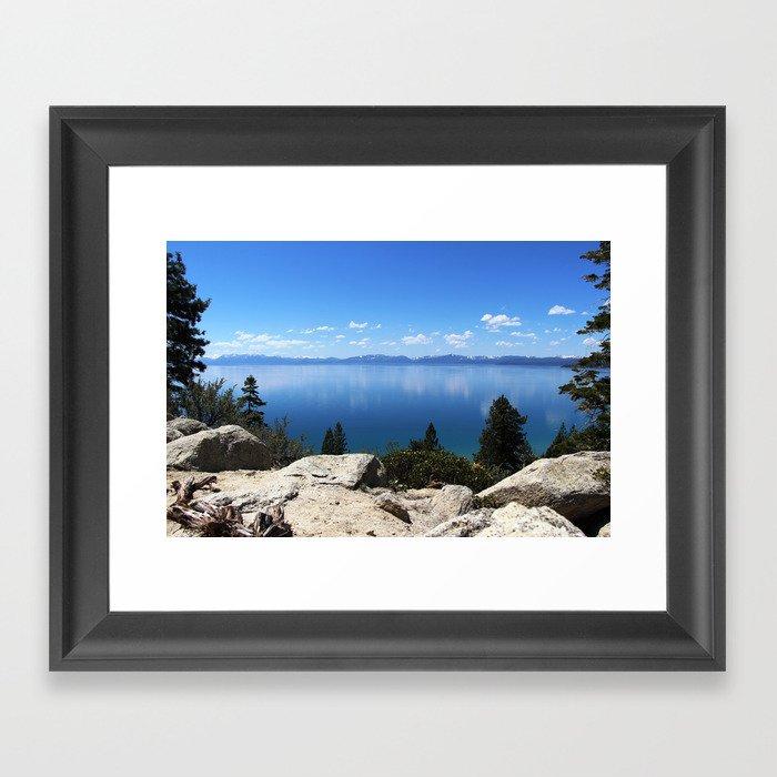 Lake Tahoe, Nevada Gerahmter Kunstdruck