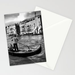 Gondola on the Grand Canal, Venice Stationery Cards