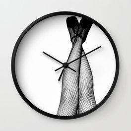 legs up Wall Clock