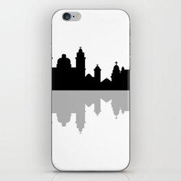 skyline of rio de janeiro iPhone Skin