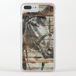 The Horse Clear iPhone Case