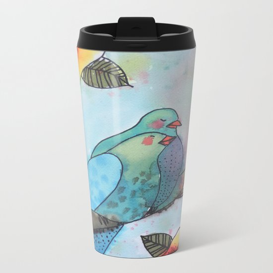 a little bit longer Metal Travel Mug