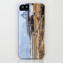 Fog on Good Harbor Beach iPhone Case
