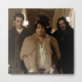 What We Do in the Shadows 2 Metal Print