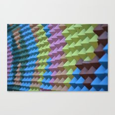 Pyramid Spikes Canvas Print