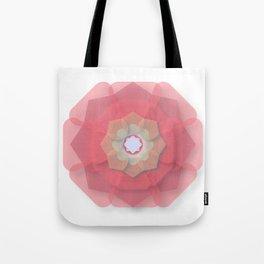 Pink Floral Meditation Tote Bag