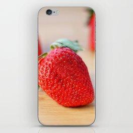 Fresh Strawberries 2018 iPhone Skin