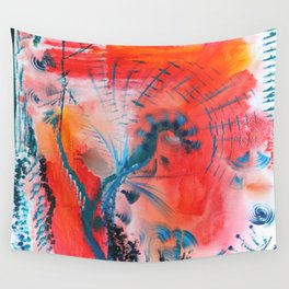 Joyous Lines Wall Tapestry