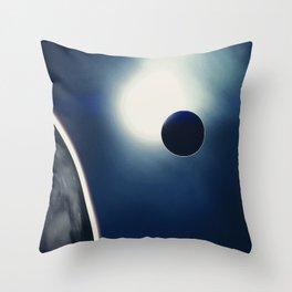Deep Space Travels Throw Pillow