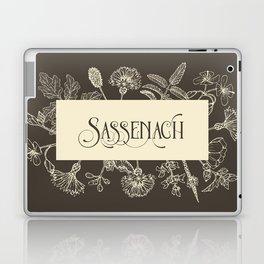 Sassenach in Sepia Laptop & iPad Skin