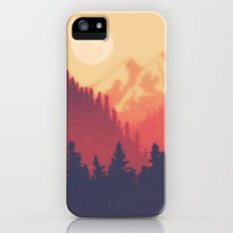 Pine Valley iPhone Case