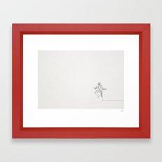 Elwood Linea Framed Art Print