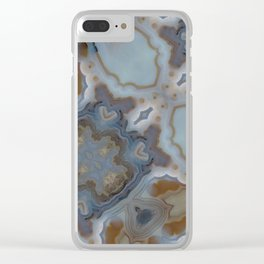 luxury marble Clear iPhone Case