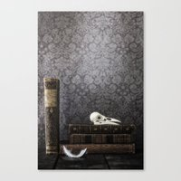 library Canvas Prints featuring library by Joana Kruse