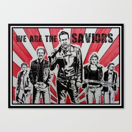 we are the saviors Canvas Print