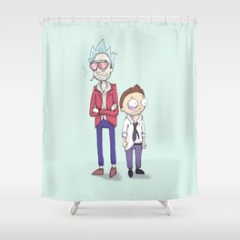 Schwift Club Shower Curtain