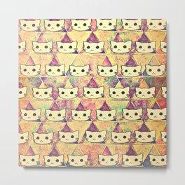 cats-394 Metal Print