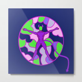 Cell Hell Metal Print