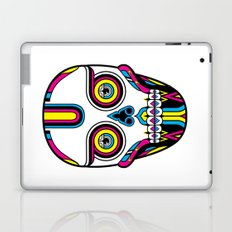 CMYK Skull Laptop & iPad Skin