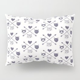 Many Camp Logos Pillow Sham