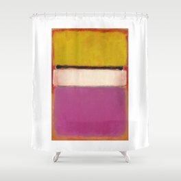 1950 White Center by Mark Rothko Shower Curtain