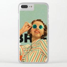 Bright Cinnamon Clear iPhone Case