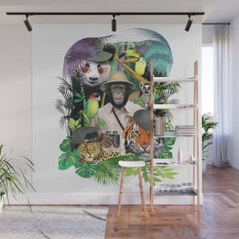 Animal Safari. Wall Mural