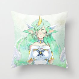 Soraka starguardian Throw Pillow