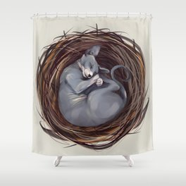 Cosiness Shower Curtain