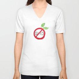 GMO Free  Unisex V-Neck