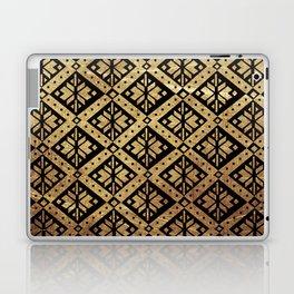Golden Black 1 Laptop & iPad Skin