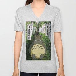 My neighbor Totoro's Unisex V-Neck