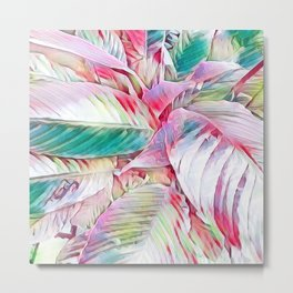 Pastel Botanicals Metal Print