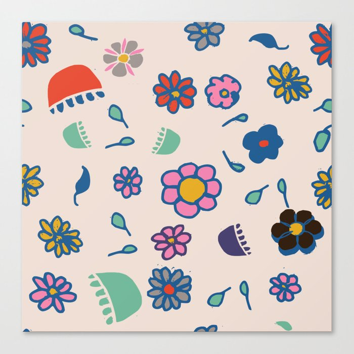 Floral spring Canvas Print