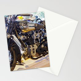 Mirror Mirror on the bike Stationery Cards