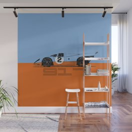 Vintage Le Mans race car livery design - 917 Wall Mural