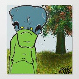 """Happy Sloth""  Canvas Print"